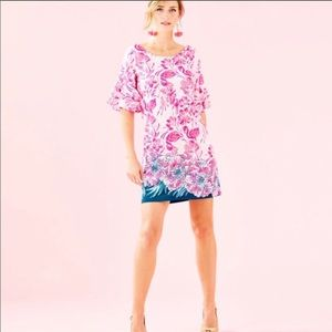 Pink and blue Lilly Pulitzer dress